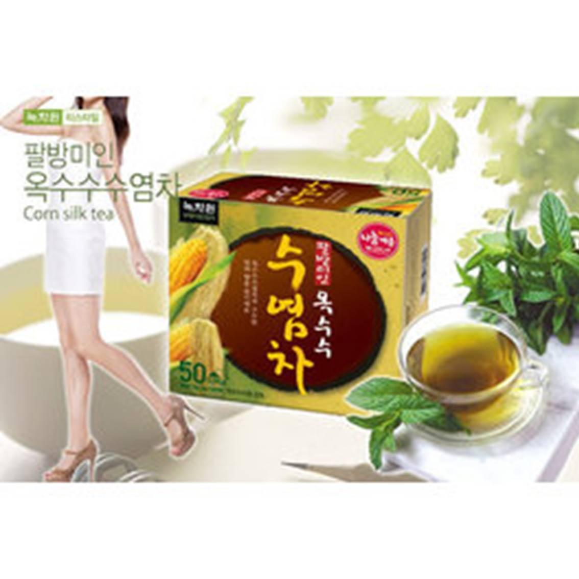 韓國綠茶園玉米鬚茶(50入)冷熱都好喝 電腦族必備【樂活生活館】