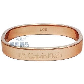 【錶飾精品】Calvin Klein CK飾品 KJ06PD1002-IP玫瑰金 男性手環 316L白鋼 全新原廠正品