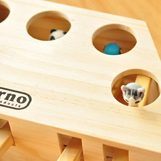 ++貓主子樂趣必備++可愛動物造型打地鼠木造玩具-小樂寵 4