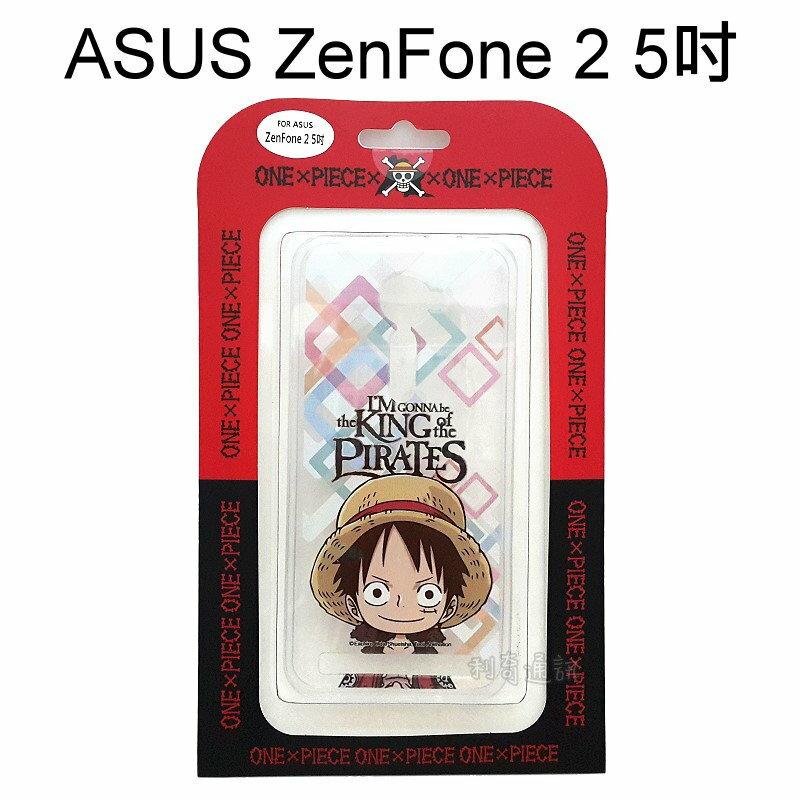 海賊王透明軟殼 [R52] ASUS ZenFone 2 ZE500CL Z00D (5吋) 航海王 魯夫【正版授權】