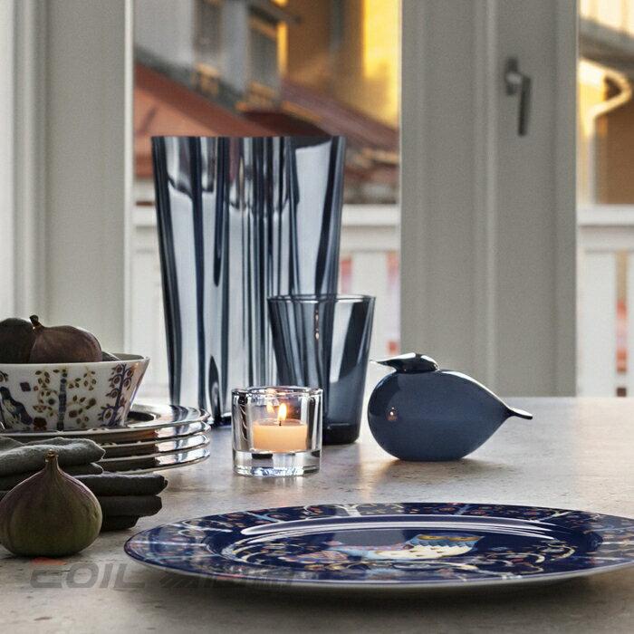 iittala Taika Plate Flach 貓頭鷹魔幻森林餐盤 27cm 藍色 #1011635 2
