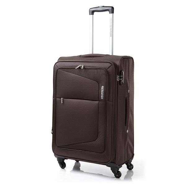 【加賀皮件】AT 美國旅行者 多色 COSTA系列 可擴充加大 布箱 商務箱 行李箱 24吋 旅行箱 75W