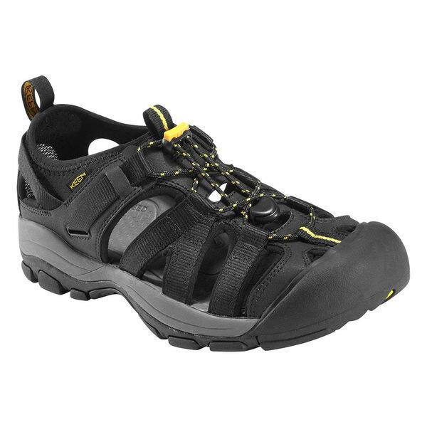【【蘋果戶外】】KEEN 1002161 黑 專業護趾涼鞋 透氣 快乾 登山 健行 抗菌 水陸兩用鞋 適自行車 溯溪 健走 海邊 沙灘鞋 安全鞋