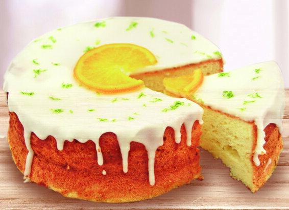 ~微酸檸檬~柳橙王子 夏日野餐 清爽系蛋糕 完美比例檸檬糖霜 嘴裡的小清新