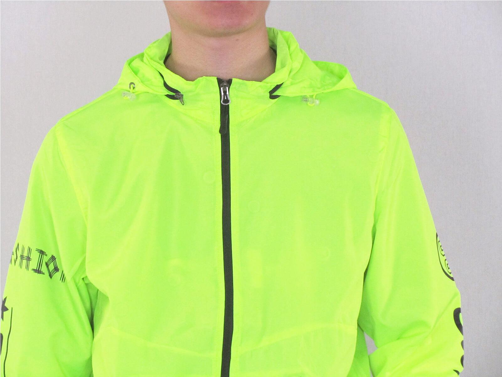 配色薄外套 遮陽防曬休閒外套 防風外套 運動暖身外套 風衣外套 JACKET (321-8878-01)螢光綠、(321-8878-02)深藍色、(321-8878-03)黑色 M L XL 2L(胸圍44~50英吋) [實體店面保障] sun-e 5