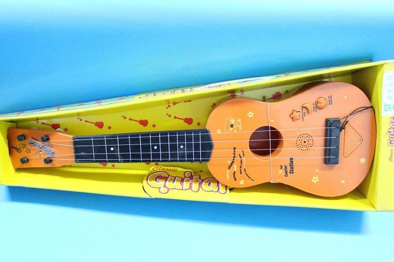 小型電吉他 旅行電吉他 NO.130 兒童吉他 表演吉他 玩具烏克麗麗^(附電池^) 一支