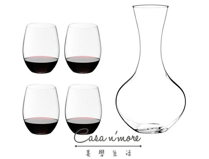 Riedel O系列 Cabernet 紅酒杯 葡萄酒杯 醒酒器 禮盒 水晶杯 德國製 水晶杯 五入組 德國製