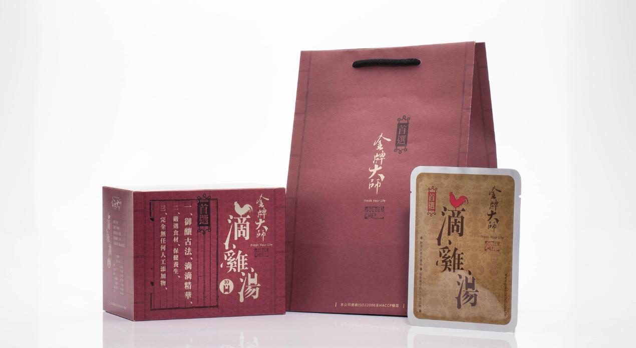 金牌大師滴雞精 10包/盒