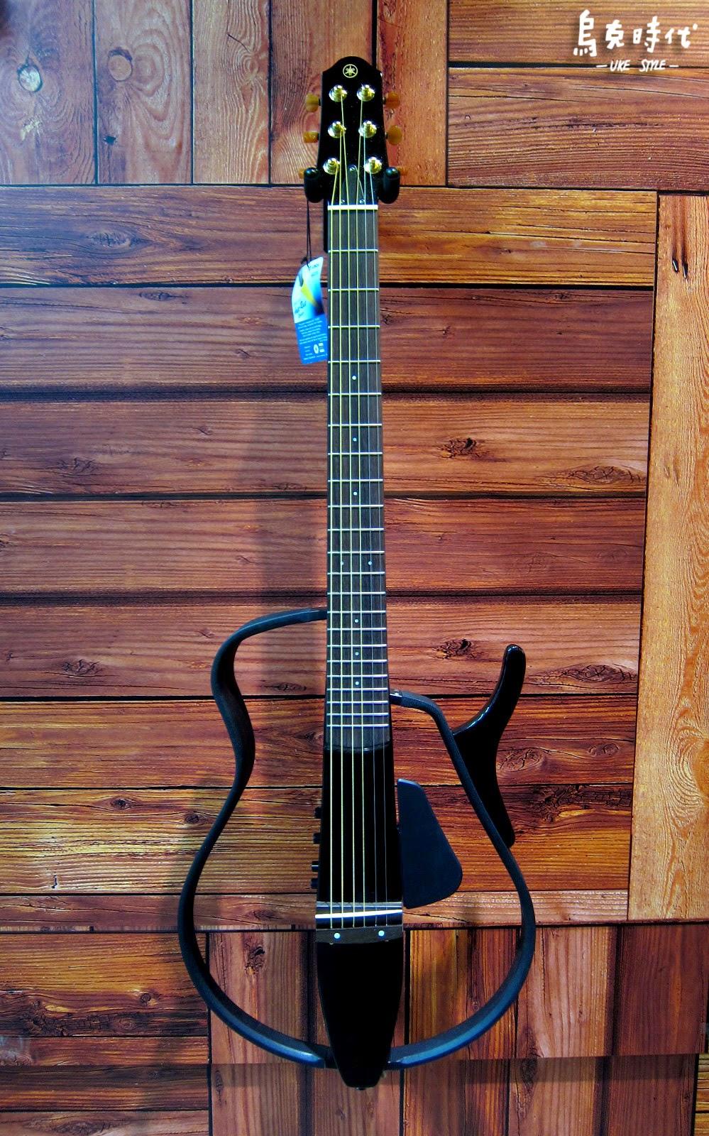 烏克時代~Yamaha靜音民謠吉他SLG110S黑色