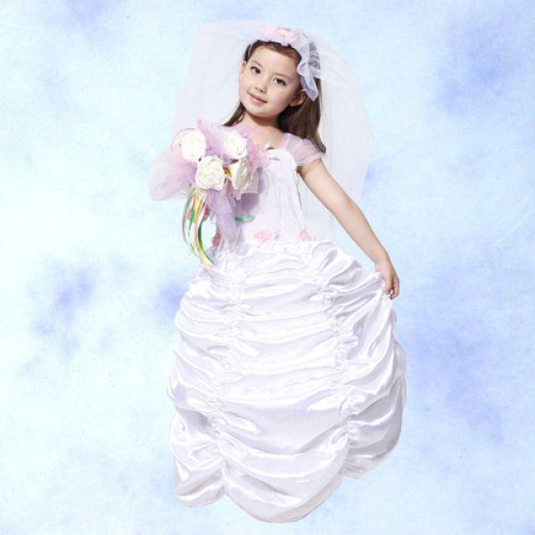 天姿舞蹈戲劇表演服飾特殊造型館:GTH-1266可愛新娘禮服(SMLXL)化裝舞會表演造型服