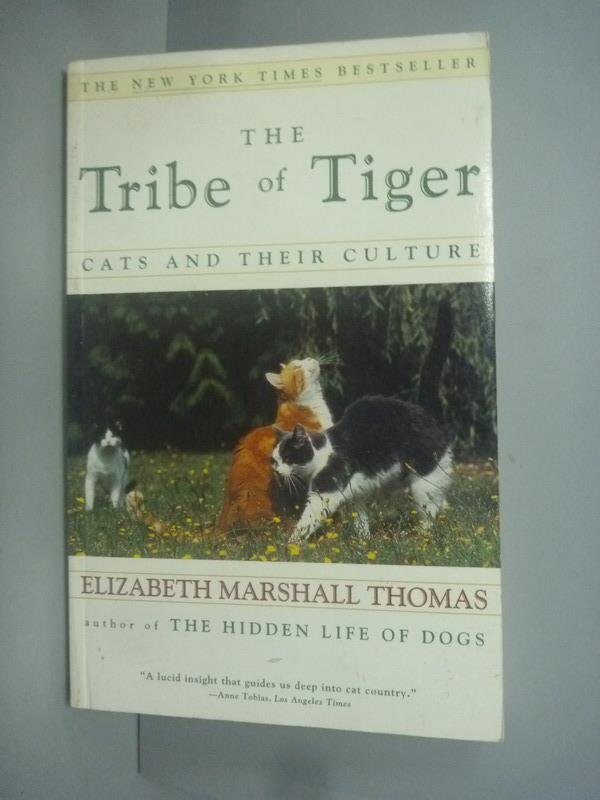 ~書寶 書T1/原文小說_KHM~The Tribe of Tiger_Elizabeth
