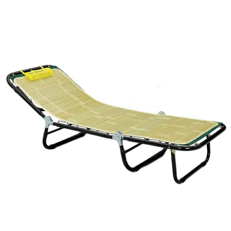 三折式竹面涼床