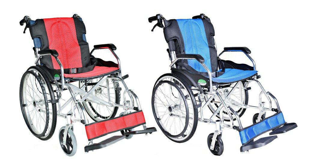 來而康 頤辰 機械式輪椅 YC-600 輪椅B款補助 贈 輪椅置物袋