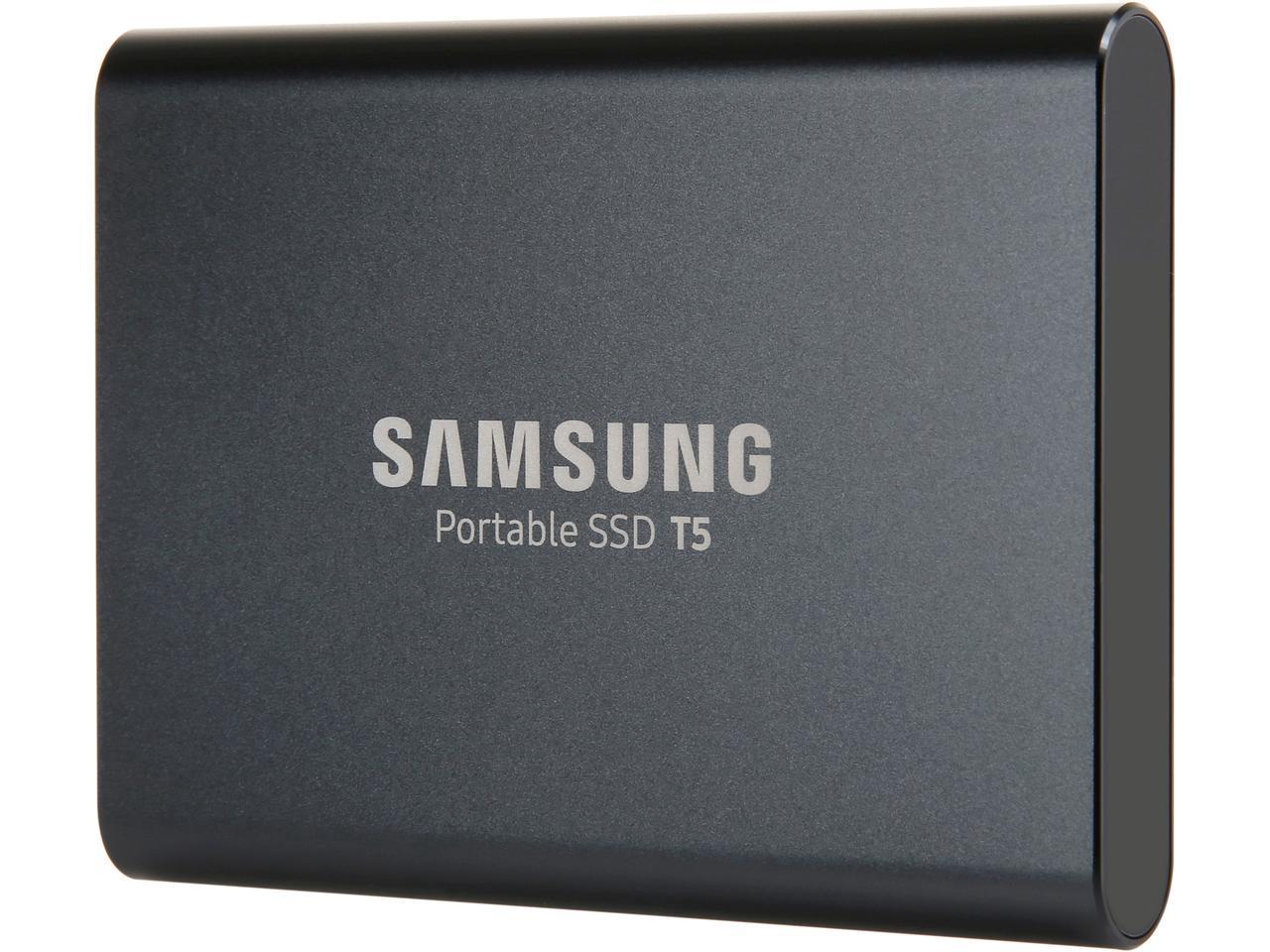 "Samsung T5 Portable 1TB 1.0TB SSD 2.5"" USB 3.1 V-NAND External Solid State Drive MU-PA1T0B 0"