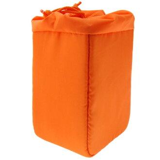 [享樂攝影] JENOVA 吉尼佛 橘色 38002-2 相機內袋 單鏡 防塵 防潑水 內套