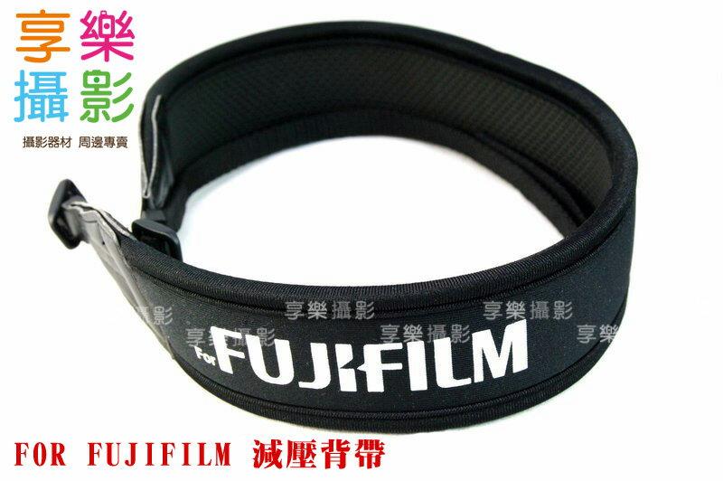 ^~享樂攝影^~ for Fujifilm 字樣 彈性背帶 輕便減壓相機背帶 彈性 防滑