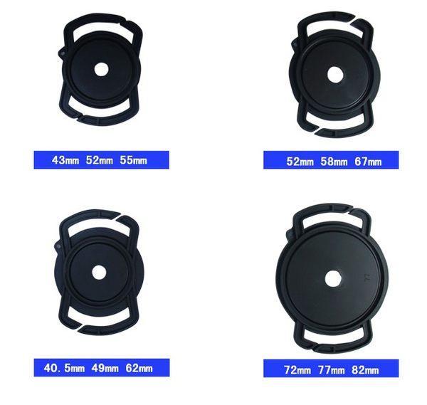 享樂攝影  相機鏡頭蓋 防丟背帶扣 鏡頭蓋扣支架 可攜式 防丟  52mm 58mm 6