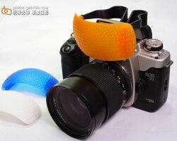 [享樂攝影] 單眼專用 通用型三色溫內閃柔光罩 柔光盒 Canon Nikon Olympus Pentax都適用