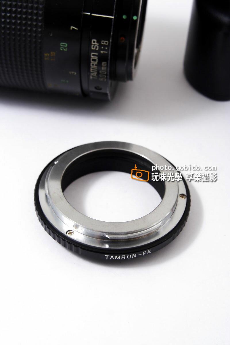 [享樂攝影] Tamron SP 騰龍百搭接環 轉接環 for Pentax PK 機身 K20D K200D