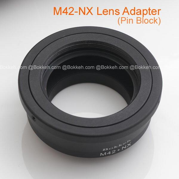 [享樂攝影] M42鏡頭轉接Samsung NX 轉接環 NX10 NX5 NX100 NX20 NX200 無限遠可合焦 可轉接zeiss takumar