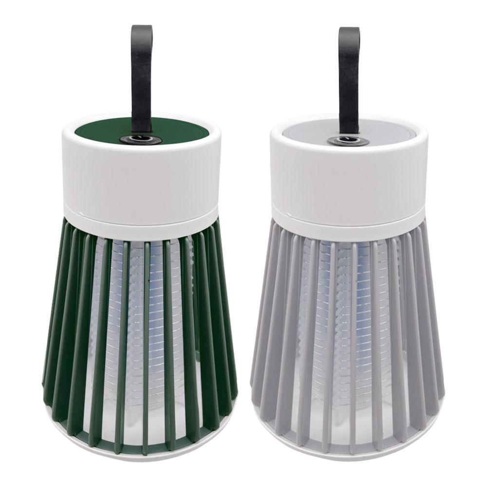 ES-002 USB充電式行動捕蚊燈 360度大面積捕蚊 電擊滅蚊 靜音安全無輻射 戶外露營