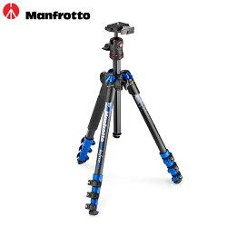 ◎相機專家◎ 送PIXI SMART Manfrotto NEW Befree color 自由者旅行腳架套組 MKBFRA4BL-BH 公司貨