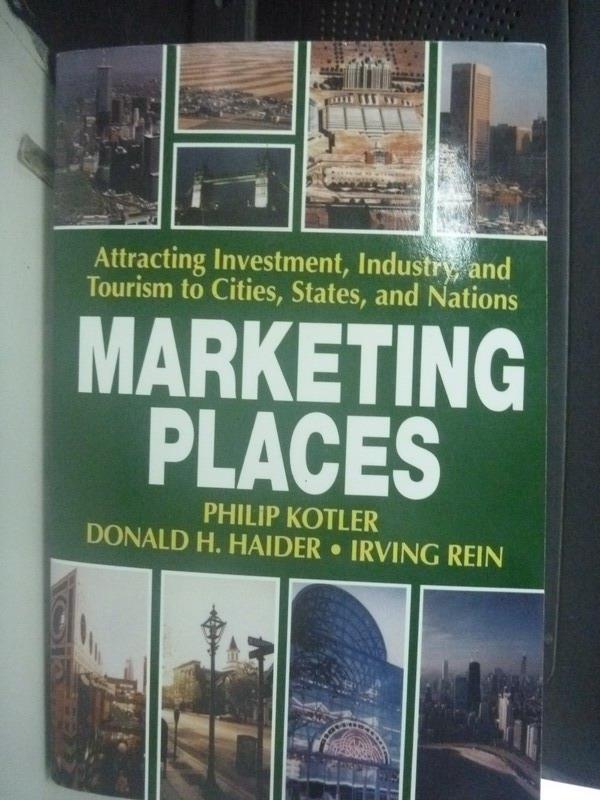 ~書寶 書T7/行銷_ZIF~Marketing Places_Philip Kotler