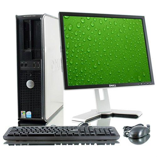 Dell PENTIUM DUAL CORE WIN 10 PRO LCD MONITOR GX520 GX620 GX745 Desktop  Computer