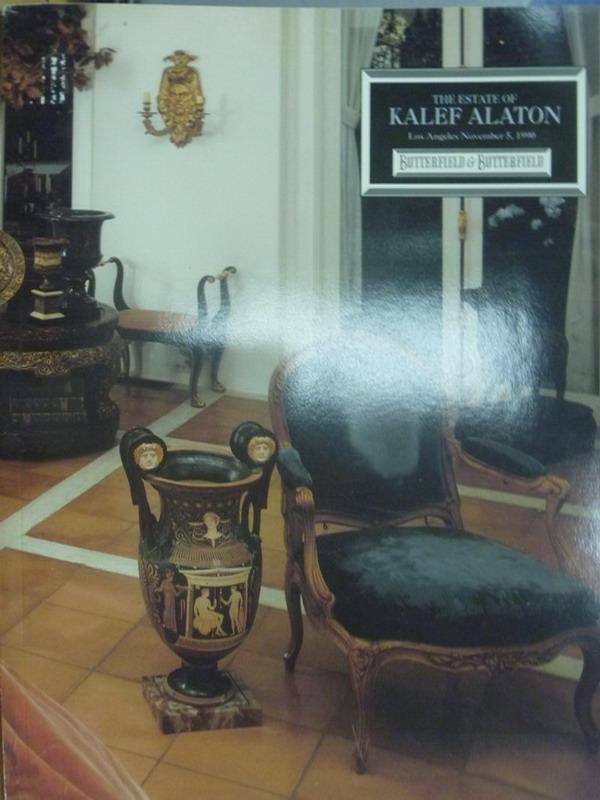 ~書寶 書T4/收藏_XAW~The estate of kalef alaton_199