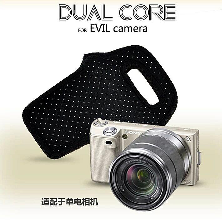 又败家@Dustgo索尼Sony轻单眼相机包NEX相机包微单眼相机袋适a6500 a6300 a6000 a5100 a5000 a3000 NEX-5R NEX-5T NEX-5N NEX-5C