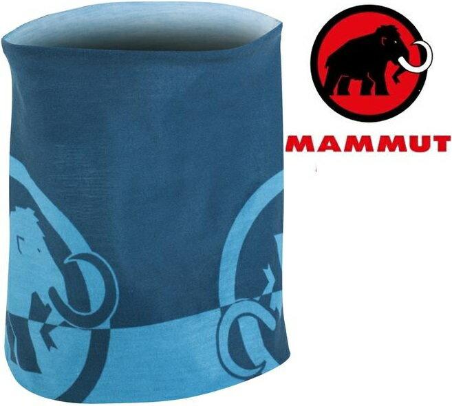 Mammut 長毛象 透氣排汗頭巾 Zion 1090-05000 5913太平洋藍