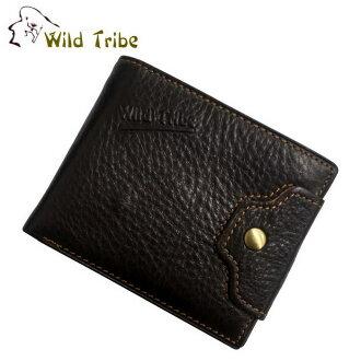 【Wild Tribe】鈕扣 真皮皮夾(WT015-3)