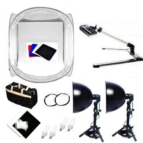雙燈架 60cm攝影棚 翻拍架 超值攝影組 T-K-6