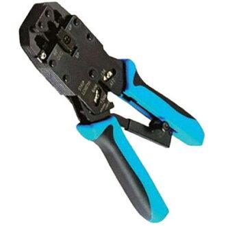Fujiei 4P6P8P工具夾 可換刀片 有棘齒省力好夾 HT-2008A 壓線鉗