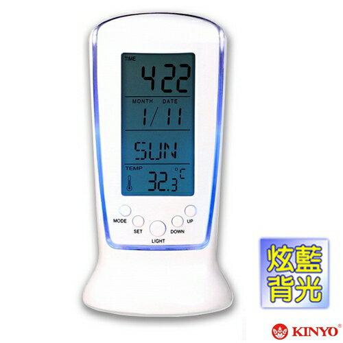 ~KINYO~直立式計時萬年曆電子鐘 TD335