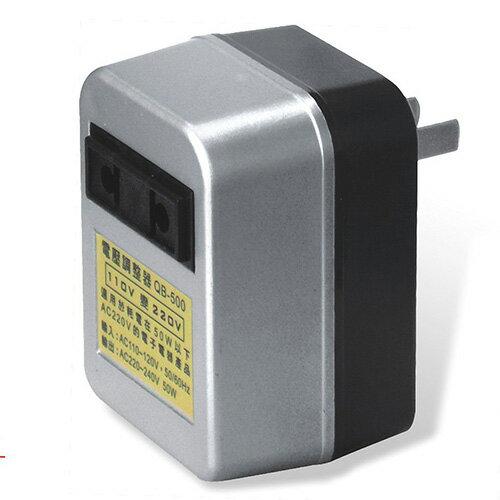 【Dr.AV】110V轉220V變壓器(QB-500)2入