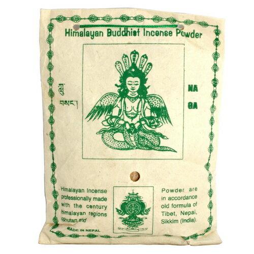 【藏傳佛教文物】龍王菩薩 天然除障香粉 煙供粉-160g(PBI-04)