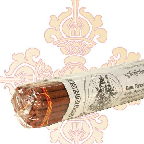 【藏傳佛教文物】臥香-蓮花生大士 尼泊爾純手工法製造線扎臥香