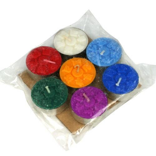 【藏傳佛教文物】七色純質酥油粒(PBL-04)
