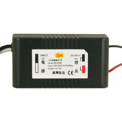 SH 順合 台灣製造 LED 杯燈專用 安定器 變壓器 6W 輸入110V~240V