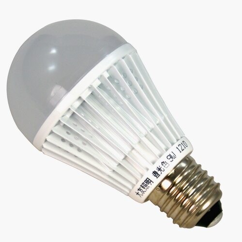 大友照明 9W LED燈泡 全電壓 E27燈頭 (白光/黃光)SH