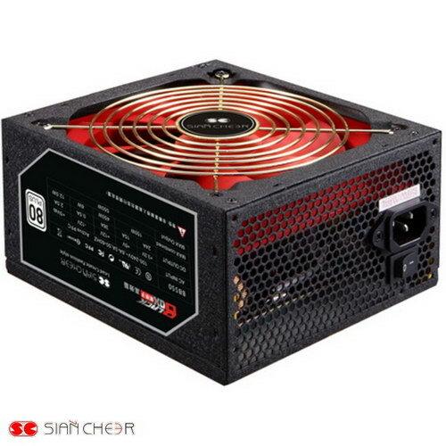 上淇 黑匣子(80+白單路12V 38A) 550足瓦電源供應器(BB550)