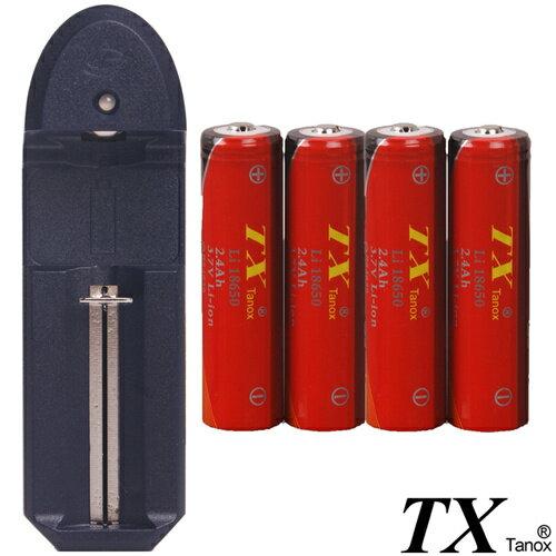 18650鋰充電池多功能充電組(LI18650-4-Z)