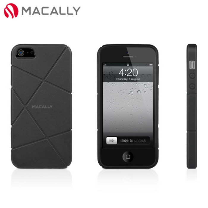 【Macally】iPhone 5/5S立體TPU保護套(FLEXFIT5B)