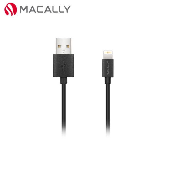 【Macally】iPhone 6/5/iPad mini/Air專用Lightning充電/傳輸線-0.9M黑(MISYNCABLE3)