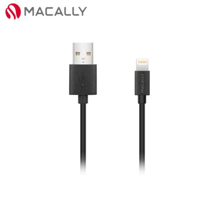【Macally】iPhone 6/5/iPad mini/Air專用Lightning充電/傳輸線-1.8M黑(MISYNCABLE6)