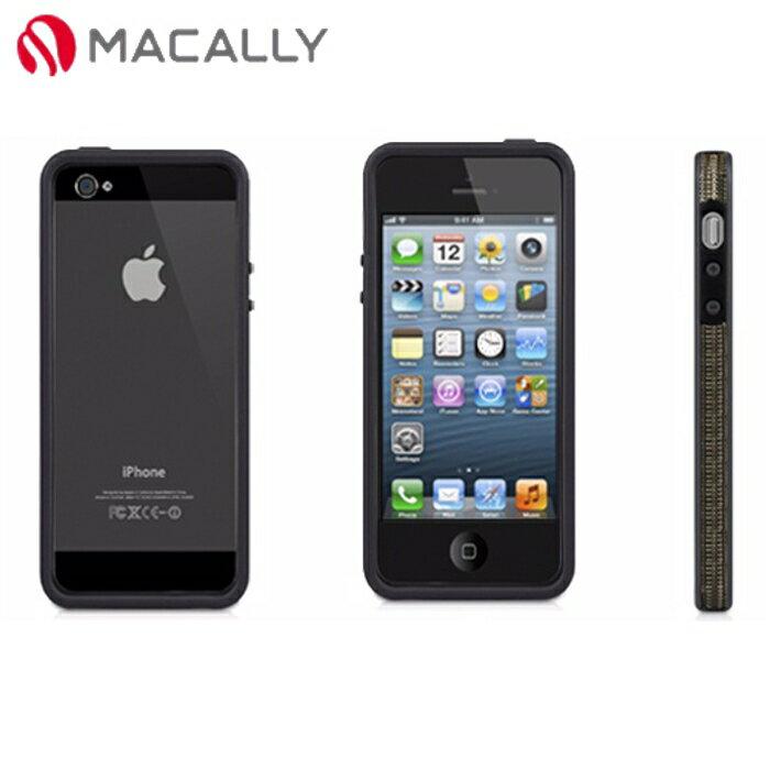 【Macally】iPhone 5/5S時尚編織邊框保護套(RIMP5B)