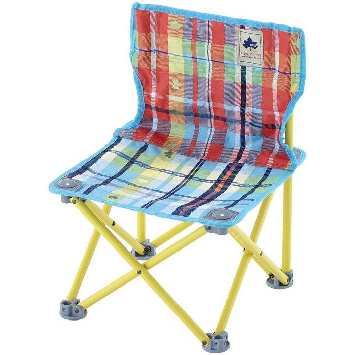 【鄉野情戶外專業】 LOGOS |日本| 愛麗絲格紋野營椅/折疊椅 摺疊椅 低面椅/LG73170037