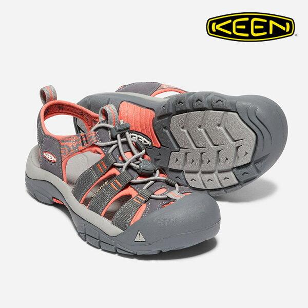 KEEN女款織帶涼鞋NewportHydro1018947城市綠洲(水陸兩用、輕量、戶外休閒鞋、運動涼鞋)