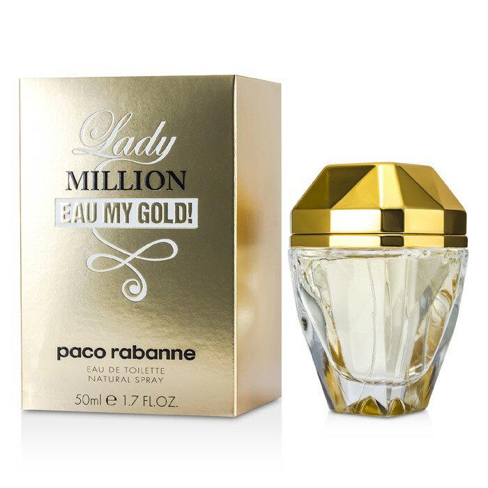 Paco Rabanne Lady Million Eau My Gold!百萬千金女性淡香水 50ml/1.7oz